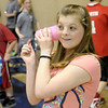 Mattison Selby demonstrates her String Telephone. Frankton Elementary fifth graders showed off their inventions during their annual invention convention on Thursday. To purchase this photo or other photos produced by The Herald Bulletin staff, visit heraldbulletin.smugmug.com.