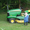 Diezel Dockery.....I'm mowing right over there<br /> <br /> Photographer's Name: Belle Spall<br /> Photographer's City and State: Markleville, IN