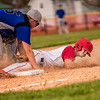 Robert Beisley of Liberty Christian slides into third base during a recent game against APA. He was safe.<br /> <br /> Photographer's Name: Terry Lynn  Ayers<br /> Photographer's City and State: Anderson, Ind.