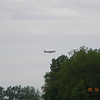 Goodyear Blimp flying behind our house!!! <br /> <br /> Photographer's Name: Kathleen Kelly<br /> Photographer's City and State: alexandria, IN