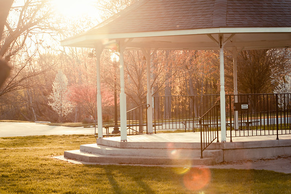 The gazebo at Falls Creek.<br /> <br /> Photographer's Name: Terry Lynn Ayers<br /> Photographer's City and State: Anderson, Ind.