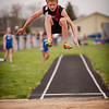 My son, Dawson Ayers, competing in the long jump for Liberty Christian.<br /> <br /> Photographer's Name: Terry Lynn Ayers<br /> Photographer's City and State: Anderson, Ind.