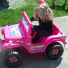 My granddaughter out for a ride on a lovely day. No potholes on her road.<br /> <br /> Photographer's Name: Kathy Stoops<br /> Photographer's City and State: Anderson, Ind.