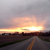 A Monday sunset before the rain in western Madison County<br /> <br /> Photographer's Name: Harry Kirchenbauer<br /> Photographer's City and State: Anderson, Ind.