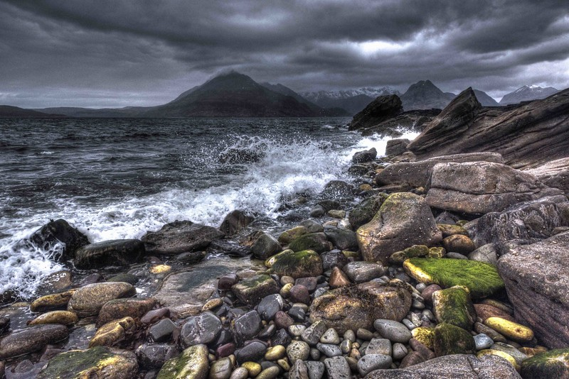 The Cuillins from Elgol on Sunday, 1st May 2016