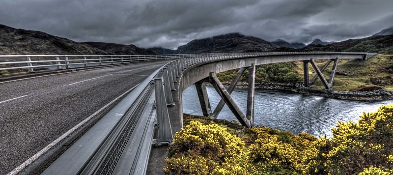 Kylesku Bridge on Monday 16th May 2016