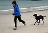 Shonagh and Emmy at Achmelvich on Monday 16th May 2016