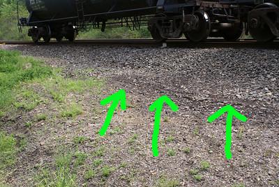 hose drag marks