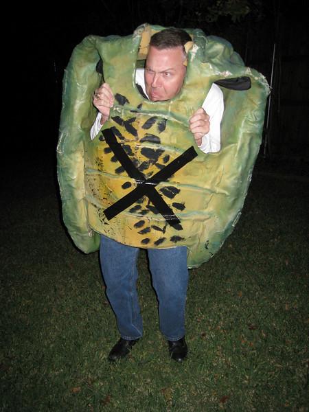 Robert the scary tortoise?