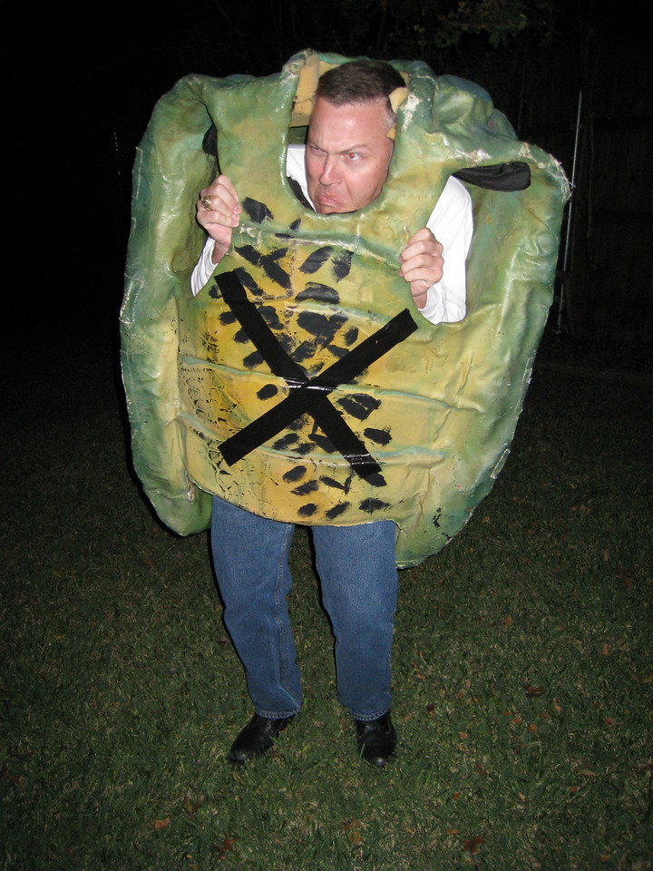 Robert the scary tortoise?