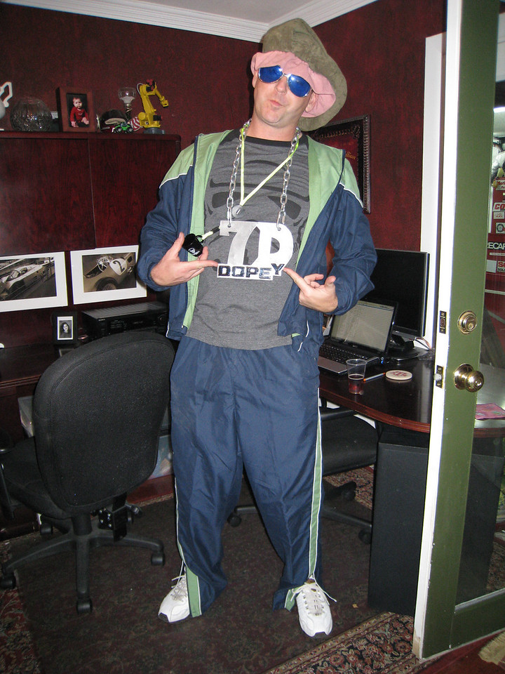 Terry Fair as Dopey the Pimp Dwarf
