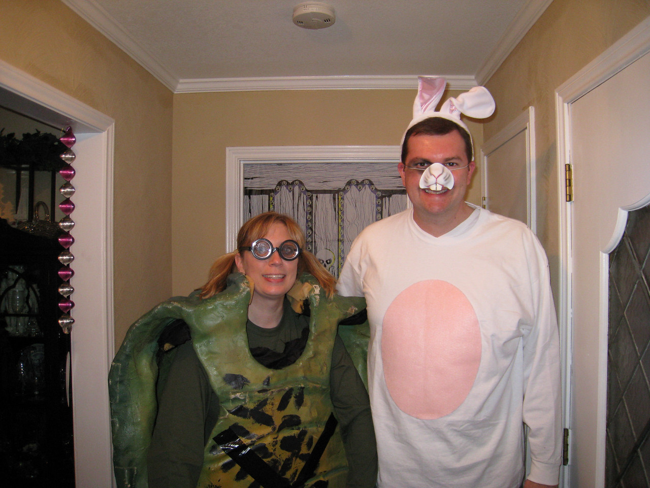 Deena and Sean - The tortoise and the hare that got run over.