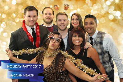 McCann Health Holiday Party 2017