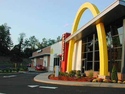The most impressive McDonald's drive through ever!