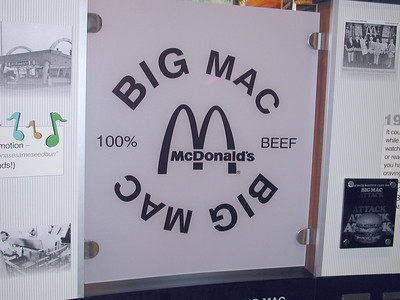 "Eary sign of ""Big Mac"" Times."