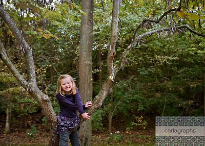 Ava Climbs the Tree (1 of 1)