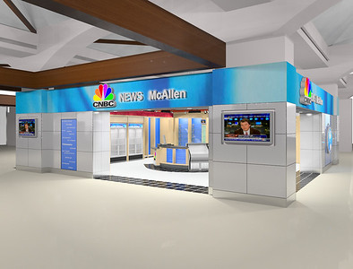 Atlanta based Paradies Shop to begin construction in August of 2010 on a CNBC News Store at McAllen International Airport.