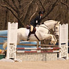 Samantha B competing with her horse Zeus.