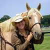 Bev T. and her quarter horse Prince.