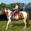 Carol S. and her Tobiano Paint, Sage.