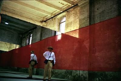 Venice Biennale, self-portrait, Contax T-2