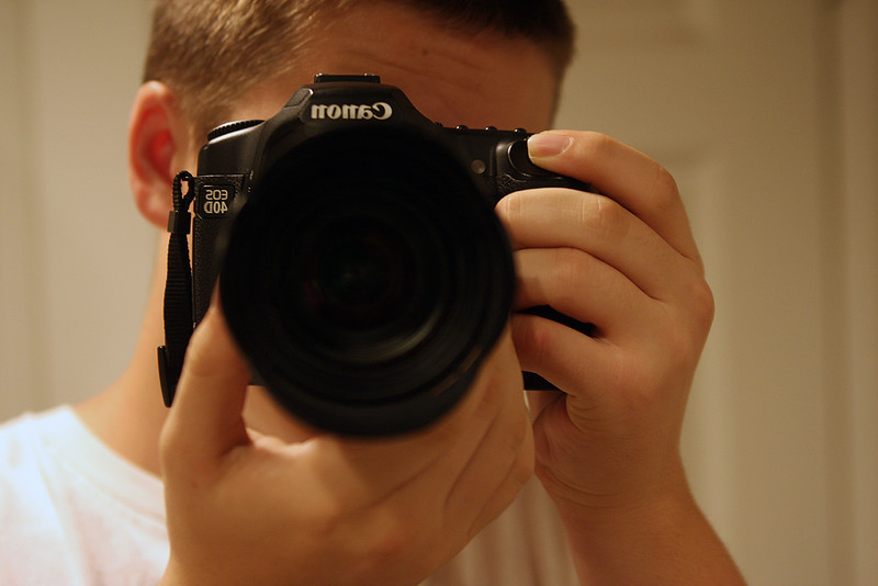Me with my Canon 40D and Tamron 28-75 2.8