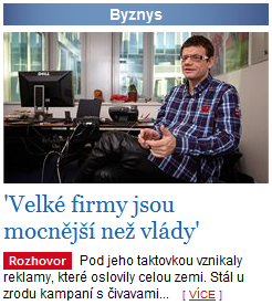 Martin Jaroš Lidovky.cz