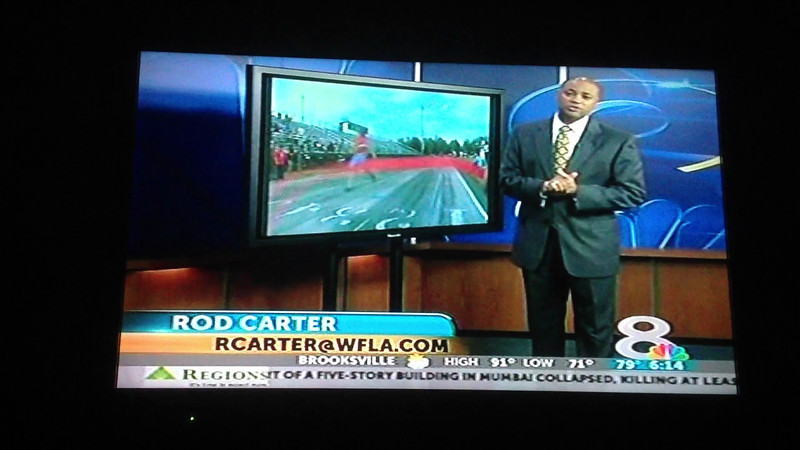 Care2Tri on WFLA news channel 8 at 6:14 am