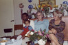 From left to right: Marvin Durrow, Heidi Durrow (on lap), my Mormor, Mor.  Herning circa 1973