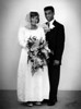 My parents' wedding: 1965 in Herning, Denmark.  Marvin Durrow & Birgit
