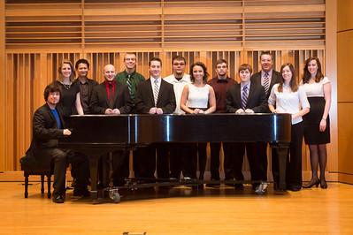 President's Recital Performers 2014