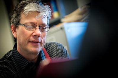 Brent McPike teaching student