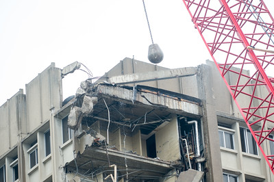 Statesman Towers demolition