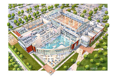 recreation center drawing