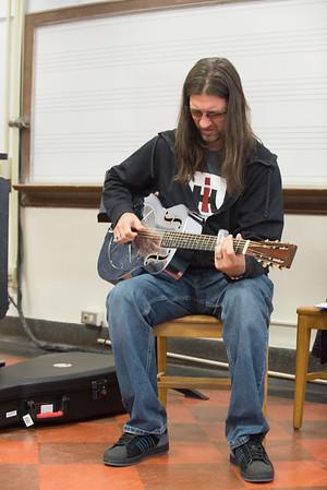 Guitarist David Ralston