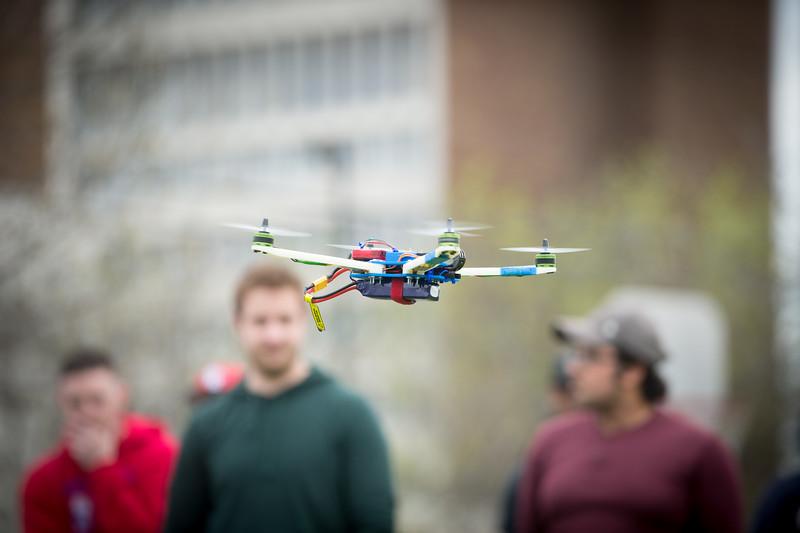 Drone flight for 3D printer