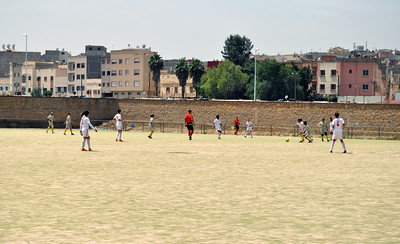Indiana State University women's soccer team tours Morocco, May 4-14, 2014.