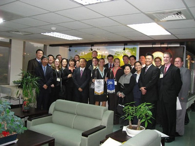 group photo after our visit to National ChengChi University (Mr. Paul Lo's alma mater - undergrad) and meeting with their International MBA faculty and students.