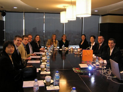 study group in SinoPac Securities conference room