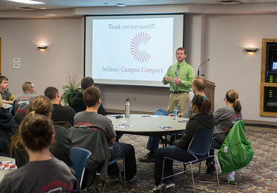 This success event was sponsored by Indiana Campus Compact and will involved approximately 40 participants from the local Air National Guard unit