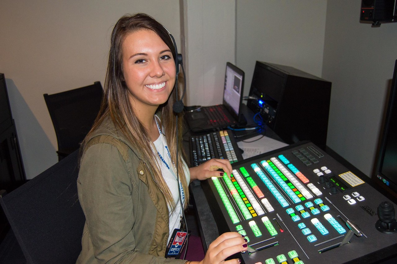 Student serves as technical director for ESPN3