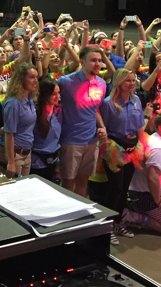 Dance Marathon organizers recognized for work, land internships