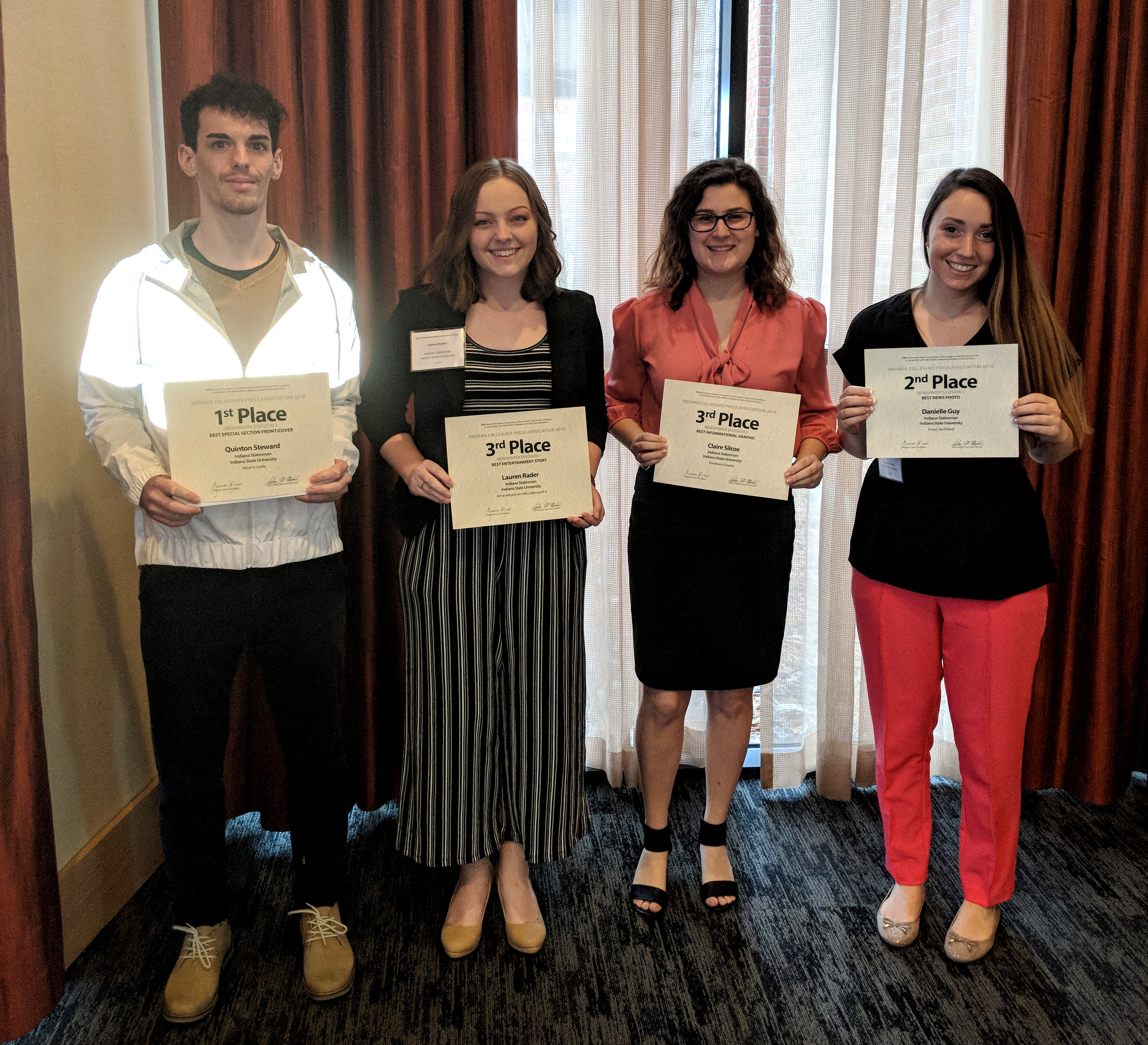 Student Publications bring home awards from statewide convention