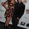 Singer Jenna Rose with Actor Edvin Ortega @ One night two charities event