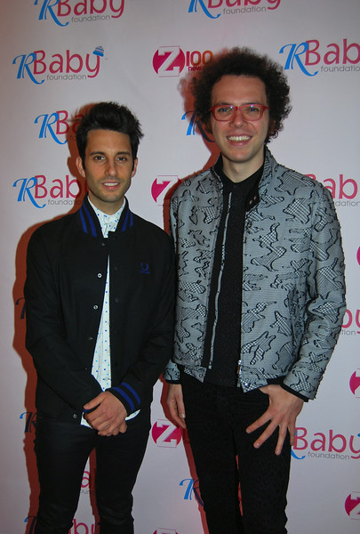 Multi-Platinum Selling  A Great Big World (Ian Axel) and (Chad Vaccariro) @ Rockin' to Save Babies Lives Benefit Concert  July 23 2014 at the Hammerstein Ball Room NYC