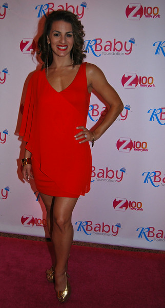 """Female Lead Actress Renee Marino """"Jersey Boys Movie"""" attending Rockin' to Save Babies' Lives Benefit Concert  July 23,2014 at the Hammerstein Ballroom NYC"""