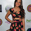 Singer Jenna Rose performs at one night two charities event nyc