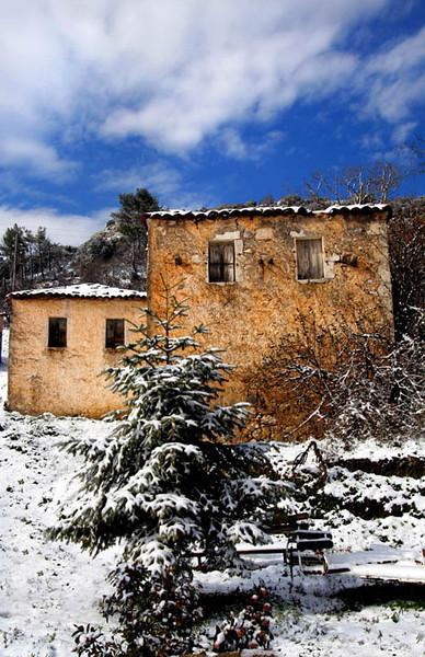 Village homes, Vervena, Greece
