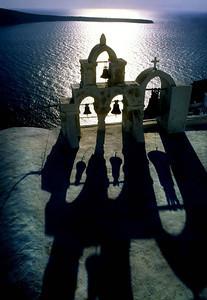 Bell tower, Oia, Santorini
