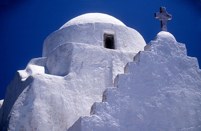 Paraportiani Church, Island of Mykonos